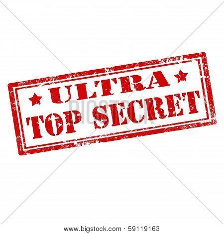 Ultra Top Secret-stamp
