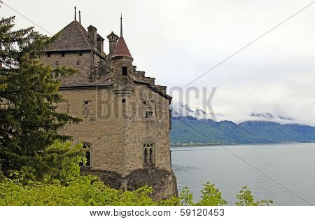 The Chillon Castle (Chateau De Chillon), Switzerland