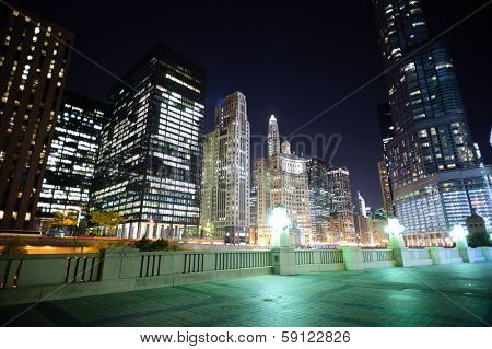 Skyscrapers of Chicago downtown