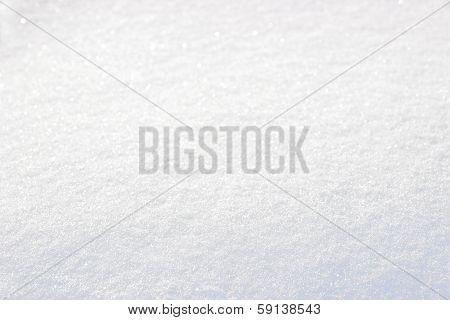 Pure White Snow Cover