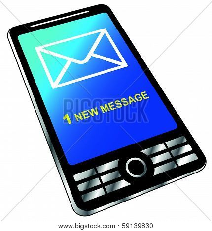 New Message On Phone