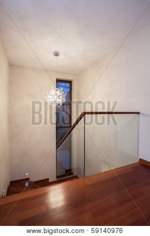 Travertine House - Stairs