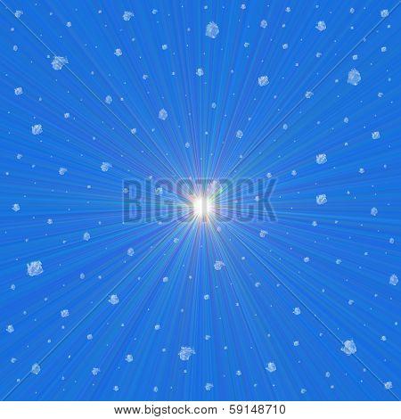 Supernova Snowflakes