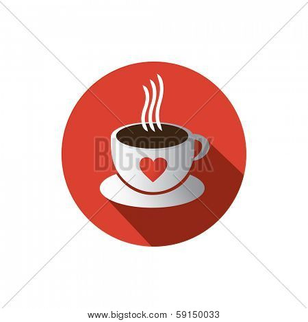 I Love Coffee - Coffee Cup Vector