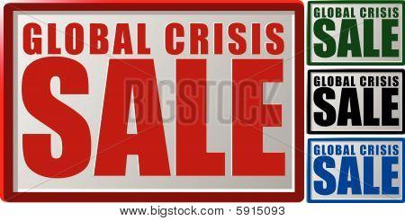 Global crisis sale
