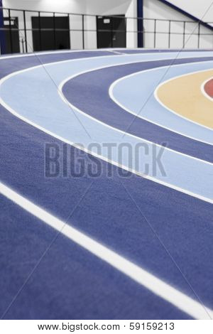 Detail from a Athletics arena indoor
