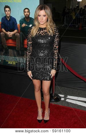 LOS ANGELES - JAN 27:  Ashley Tisdale at the