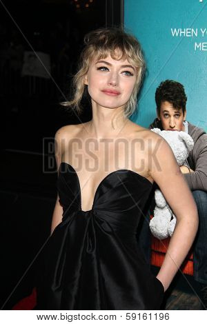 LOS ANGELES - JAN 27:  Imogen Poots at the