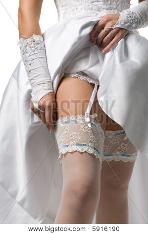 Stockings And Garter