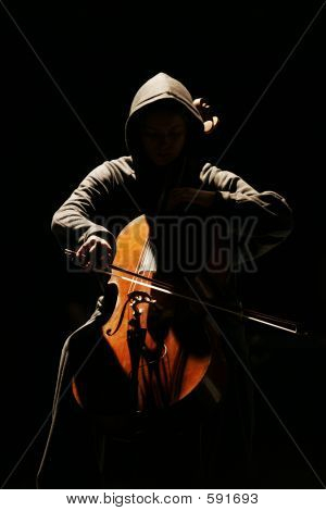 The Musician With A Violoncello