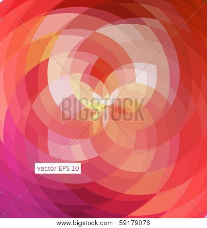 Abstract pattern of geometric shapes.Texture with flow light of effect. Geometric background.