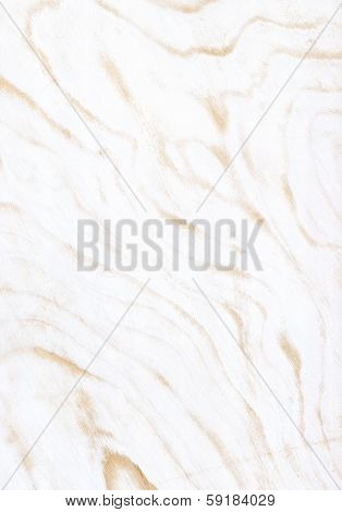 texture of fray out white painted veneer