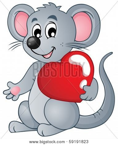 Mouse theme image 4 - eps10 vector illustration.