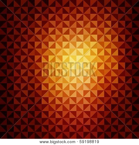 creative colorful triangle design pattern background vector