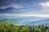 picture of gatlinburg  - View from Clingman - JPG