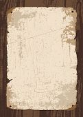 stock photo of dead-line  - Vector retro old paper and parchment template - JPG