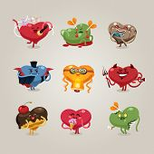 picture of grotesque  - Symbols of Valentine