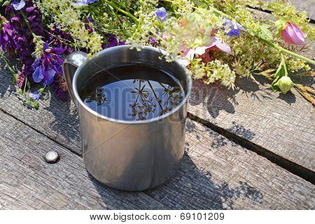 Steel Mug For Tea