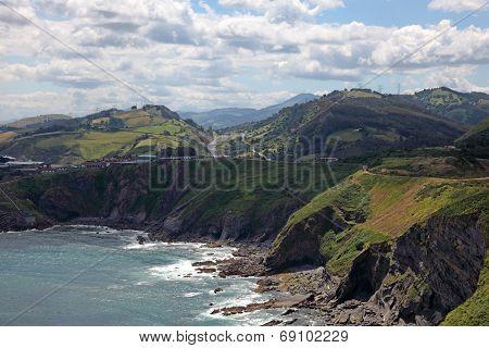 Atlantic Ocean Coast In Cantabria