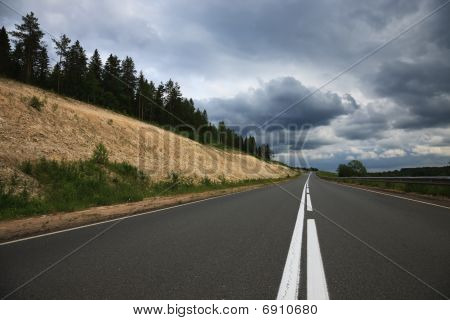 Grey Road, Grey Clouds