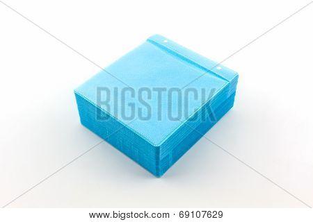 Blue Cd Paper Cases.