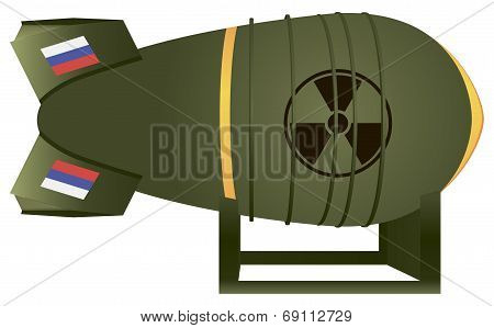 Russian Aviation Atomic Bomb