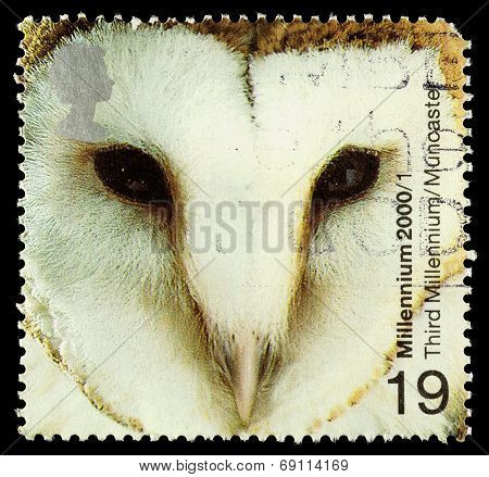 Britain Barn Owl Postage Stamp