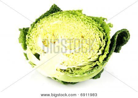 Half A Cabbage