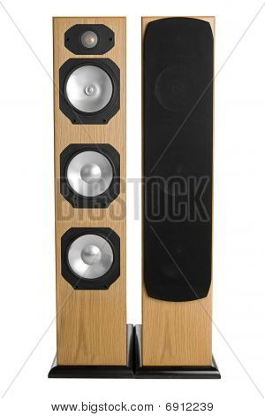 Floor Standing Stereo Speakers