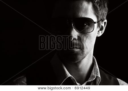 Handsome Male In Sunglasses