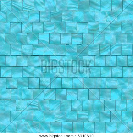 Blue Mother Of Pearls Tiles
