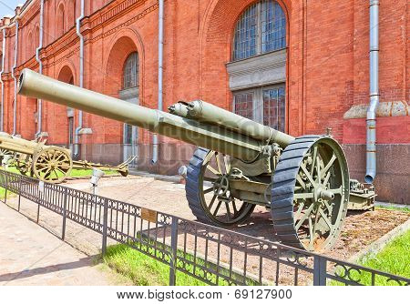 Ordnance 127 Mm British Bl 60-pounder Heavy Field Gun