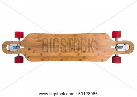 Longboard top view.