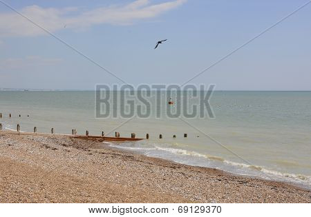 Worthing Seafront. Sussex. England