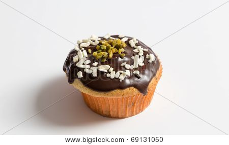 Muffins In Detail As Cut
