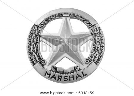 Marshal Star Badge