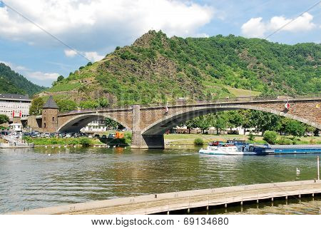 Bridge On Moselle River, Germany