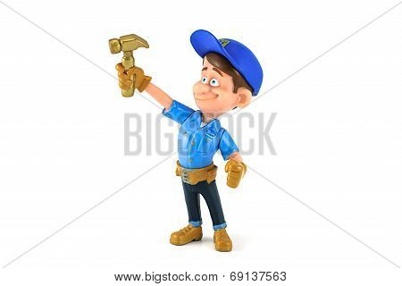 Fix-It Felix Jr. figure toy character from Wreck-it Ralph
