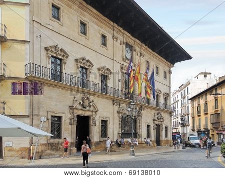 Town Hall Of City Palma De Mallorca