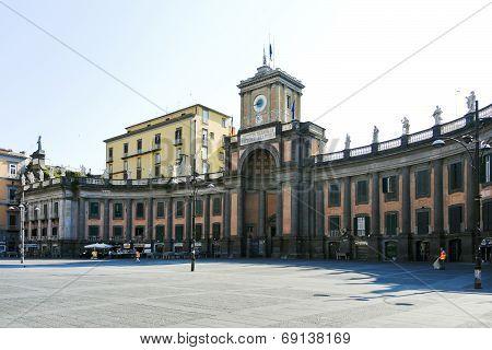 National College On Piazza Dante Alighieri, Naples