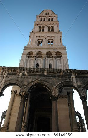 Cathedral Of St. Duje Bell Tower