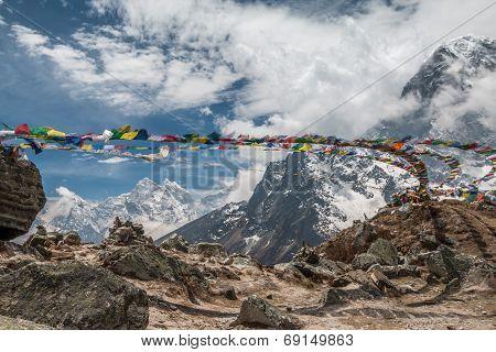 Himalayan Mountain in Nepal