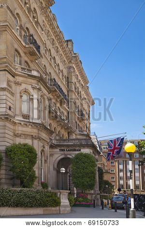 LONDON, UK - JUNE 3, 2014: regent street view