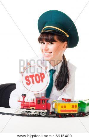 Positive Railroad Dispatcher Say Stop