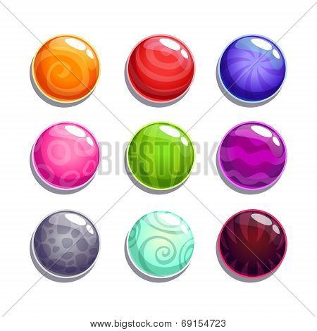 Color bubbles\balls set