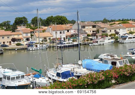 Marina of Aigues-Mortes