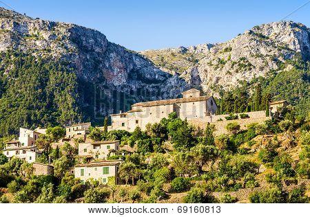 View of Deia on Mallorca