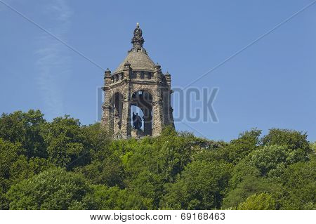 Porta Westfalica - Kaiser Wilhelm Memorial