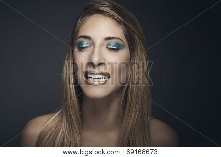 Beauty Portrait Of Young Sexy Woman