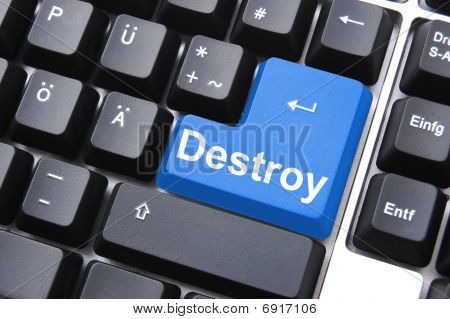 Destroy Button